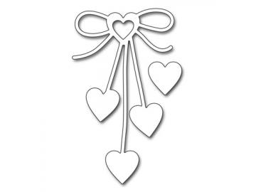 Stanzschablone Penny Black 'Heart Bow'