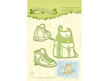 Stanzschablone LeaneCreatief 'Sneakers & Back-Pack'