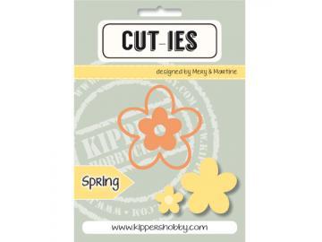 Stanzschablone Kippershobby Cut-ies 'Spring Flower'