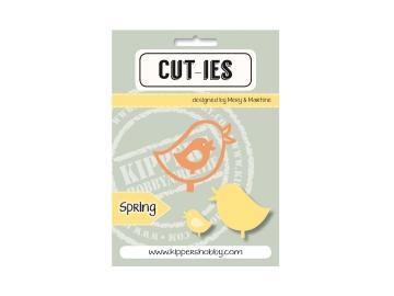 Stanzschablone Kippershobby Cut-ies 'Spring Bird'