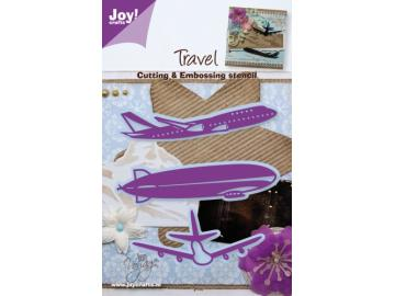 Stanzschablone Joy!Crafts 'Travel Flugzeug'