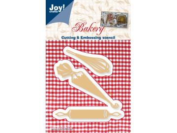 Stanzschablone Joy!Crafts 'Bakery - Backutensilien'