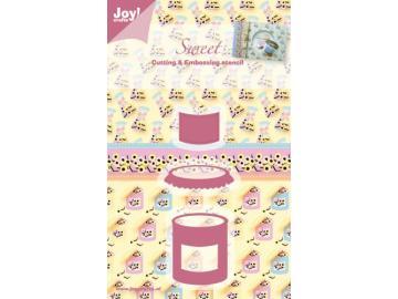 Stanzschablone Joy!Crafts 'Sweet - Bonbonglas'