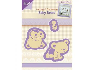 Stanzschablone Joy!Crafts 'Baby-Bears'