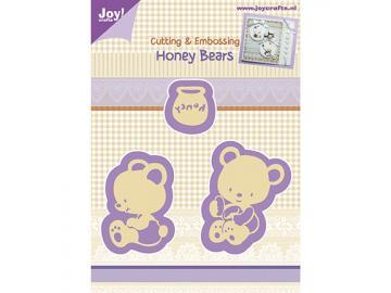 Stanzschablone Joy!Crafts 'Honey-Bears'