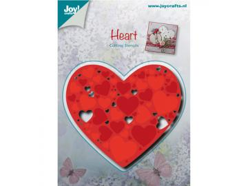 Stanzschablone Joy!Crafts 'Heart - Herz'