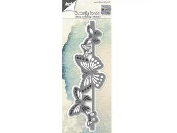 Stanzschablone Joy!Crafts 'Bordüre - Schmetterlinge'
