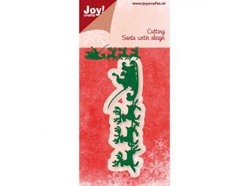 Stanzschablone Joy!Crafts 'Santa mit Schlitten'