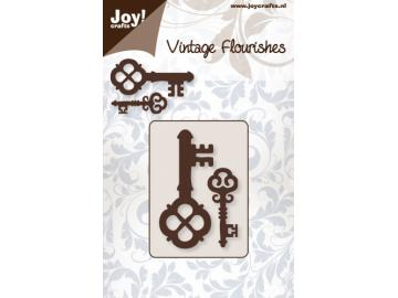 Stanzschablone Joy!Crafts 'Vintage Flourishes - Schlüssel'