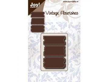 Stanzschablone Joy!Crafts 'Vintage Flourishes - Triple Tricker'