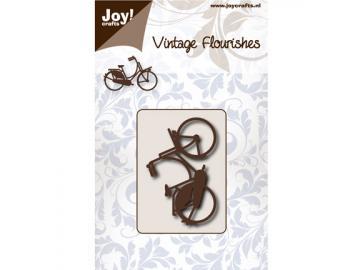 Stanzschablone Joy!Crafts 'Vintage Flourishes - Fahrrad'