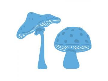 Stanzschablone MarianneDesign Creatables 'Mushrooms - Pilze'