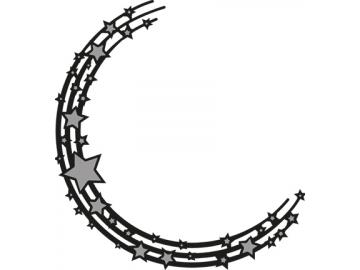 Stanzschablone MarianneDesign Craftables 'Halbkreis mit Sternen'