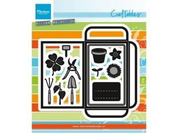 Stanzschablone MarianneDesign Craftables 'Saattüte & Gartenwerkzeuge'