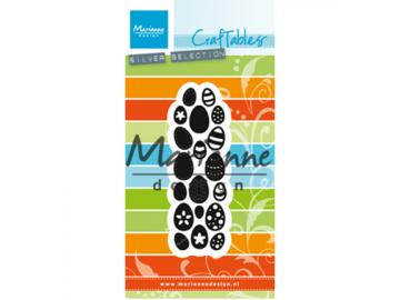 Stanzschablone MarianneDesign Craftables 'Eggs - Ostereier'