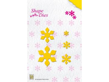 Stanzschablone NellieSnellen Shape Dies 'Folding Flower 2'