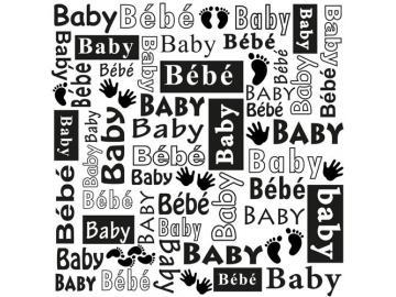 Prägefolder NellieSnellen 'Baby'