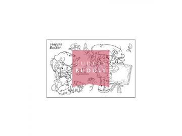 Stempelset Cuddly Buddly 'Little Poppets Springtime'
