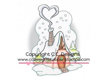Stempel CCDesign 'Winter Cottage'