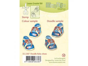 Stempelset Leane Creatief 'Doodle Baby Shoes'