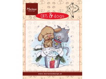 Stempel Marianne Design Cats & Dogs 'Candle light'