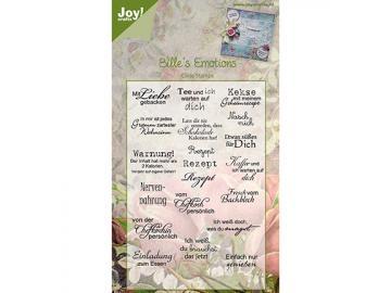 Stempelset Joy!Crafts Bille's Emotions 'Mit Liebe gebacken'