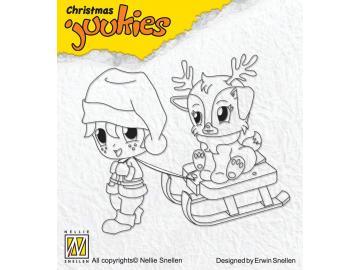 Stempel Nellie Snellen Christmas Juukies 'Sledging'