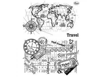 Stempelset Viva Decor 'Travel'