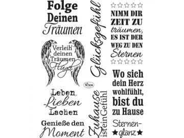 Stempelset Viva Decor 'Sprüche II'