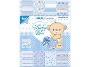 Joy!Crafts Designpapier Set 'Baby blau'