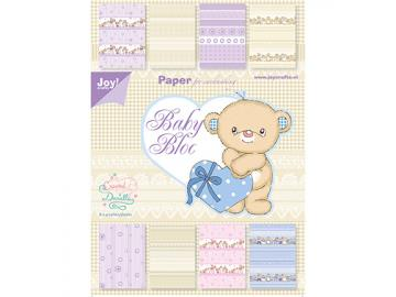 Joy!Crafts Designpapier Set 'Baby neutral'