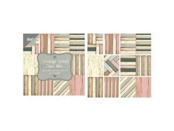 Joy!Crafts Designpapier Set 'Vintage Wood'