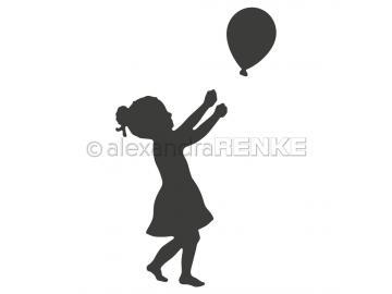 Stanzschablone Alexandra Renke 'Ballonmädchen'