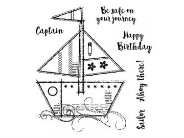 Stempel Creative Expressions 'Sailboat'