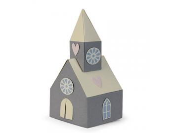Sizzix Stanzschablone Thinlits 'Scandi Church'