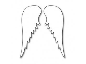 Stanzschablone Karten-Kunst - Angel Wings