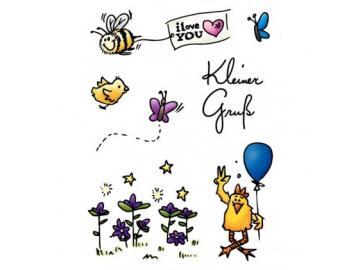 Stempelset Karten-Kunst 'Kleine Viecher'