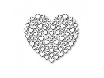 Stanzschablone Karten-Kunst 'Heart of Hearts'