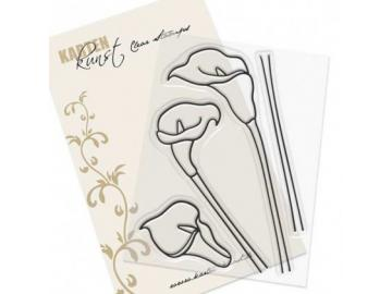 Stempel Karten-Kunst - Scribble Callas